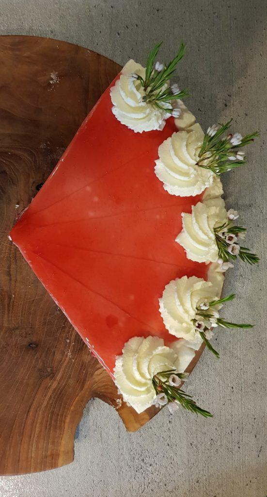Himbeersahne-Torte