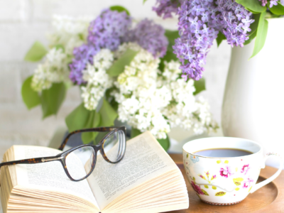 Literatur im Café